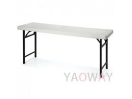 塑鋼桌面折合桌PE-709A