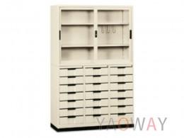 鋼製鐵櫃-21屜(4x6)