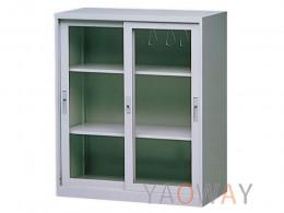 玻璃加框三層式