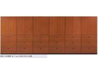 鋼製木紋烤漆櫃
