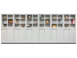 拉門式鋼木櫃