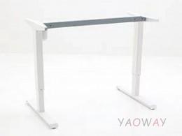 電動升降桌501-33大張陶瓷白-桌腳