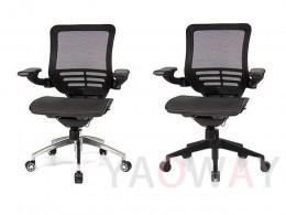 SL-D5 人體工學全網椅 扶手可收折