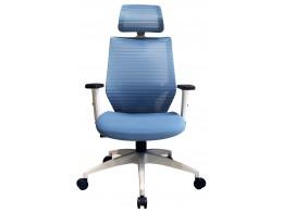 LUNA 白框美學椅