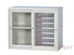鋼製連接組合公文櫃DF-KG/S-06A