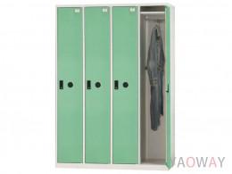 多用途置物櫃(全鋼製衣櫃)KL-5504TB