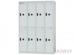 多用途置物櫃(全鋼製衣櫃)KL-5508TA