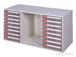 三排(A4.B4.規格)桌上型效率櫃系列 /高40.5(cm)