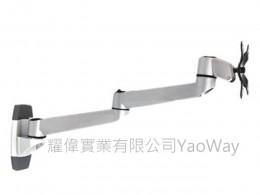 Xergo雙延伸臂牆座式螢幕支架 EM33114