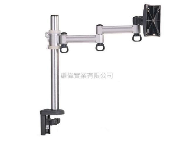 FOGIM [夾桌/穿桌]懸臂式液晶螢幕支架(單螢幕)