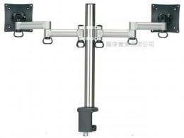 夾桌懸臂式液晶螢幕支架(雙螢幕)