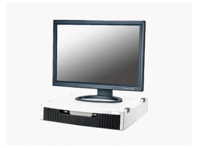 aidata 專業級時尚LCD 螢幕印表機置物架