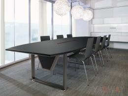 DS-L1063會議桌(馬鞍皮)