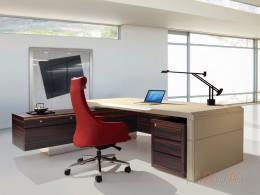 DS-L9068主管桌(馬鞍皮)