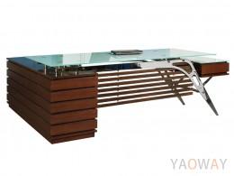 HJ-6589(G/W)主管桌