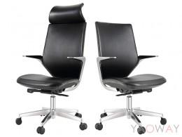 KTS-9896MTGA  時尚皮革 人體工學椅