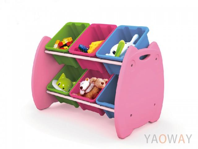 樹德 喵頭鷹玩具整理組6格EN-HA06