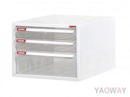 單排(A4.規格)桌上型效率櫃系列 A4-103P/高19.9(cm)