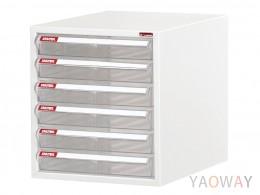 單排(A4.規格)桌上型效率櫃系列 A4-106P/高28.7(cm)