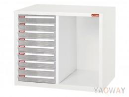 雙排(A4.規格)桌上型效率櫃系列 A4-B209/高44(cm)