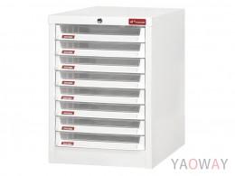 單排(A4.規格)桌上型【可上鎖】效率櫃系列A4X-108PK /高44(cm)