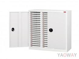 三排(A4.規格)落地型【可上鎖 加門】效率櫃系列 A4X-354PD 高88(cm)