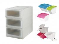 塑膠收納盒(居家收納)