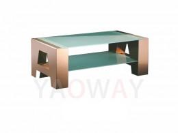 A字型主桌-古銅色不銹鋼電鍍CT-A01BRC