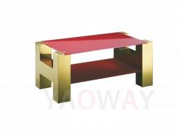 H字型客廳主桌-鍍鈦金CT-H01GOR