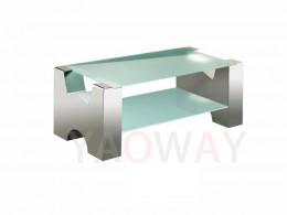 W字型主桌-亮面不銹鋼CT-W01MIC