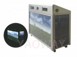 太陽能三分類資源回收桶SSR-001