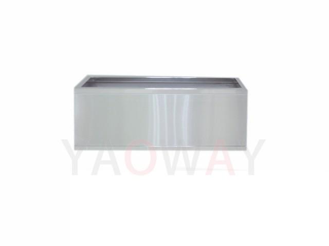 長方形不銹鋼花盆(底部附輪)TF-8030SWL