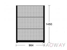 天鋼 獨立壁面型物料架KR-2306