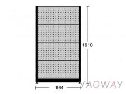 天鋼 獨立壁面型物料架KR-2408