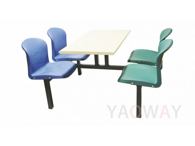 室內外餐桌椅組 (獨立座椅)