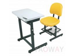 PP(塑膠-聚丙烯) 課桌椅 (桌椅分離)