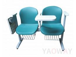 PP(塑膠-聚丙烯) 視聽連結式課桌椅