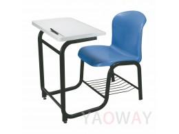 PP(塑膠-聚丙烯) 課桌椅 (桌椅連結)