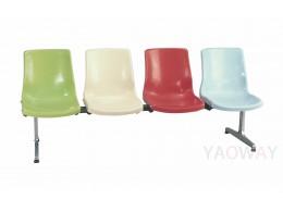 PP(塑膠-聚丙烯) 多人座排椅