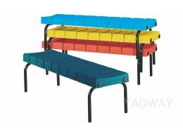 PP(塑膠-聚丙烯) 公共座排椅