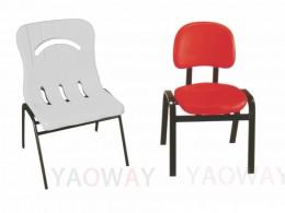 PE(塑膠-聚乙烯) 單人洽談椅