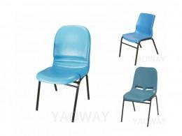 PP(塑膠-聚丙烯)單人洽談椅