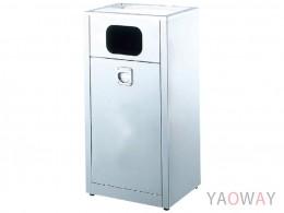 AT4-78不銹鋼煙灰缸垃圾桶
