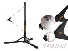 [期間限定優惠]打擊練習器+棒、壘球組